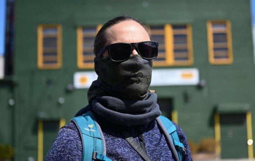 ماسک تنفسی خانگی